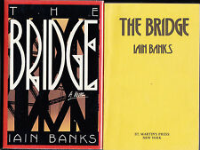 Iain Banks - The Bridge - Signed 1st/1st US 1989 AND a Proof Copy - 2 items