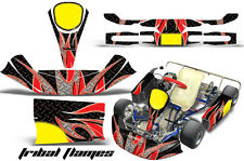 KG Kid/Baby AMR Racing Graphics Evrr Mini Krypton Sticker Kits MAX Decals TFLAME