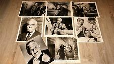 FRANKENSTEIN 1970 ! b karloff rare photos presse argentique cinema