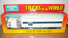 "ERTL #1453 ""TRUCKS OF THE WORLD"" FORD CL-9000 & VAN, VGC WITH BOX"