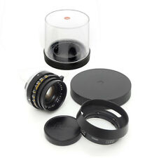 Leica Summicron-​M 35mm F2 Lens. Hood For Leica M