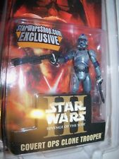 Retired Star Wars Shop.com Exclusive COVERT OPS CLONE TROOPER ltd ed figure