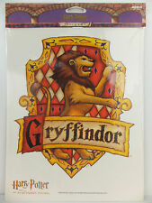 Harry Potter Gryffindor School Crest Jumbo Wall Sticker Sorcerer's Stone