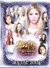 BUFFY THE VAMPIRE SLAYER WOMEN OF SUNNYDALE PROMOTIONAL SELL SHEET
