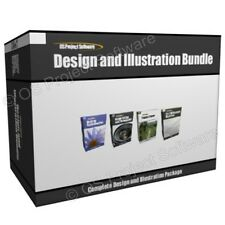 Illustration design logiciel d'édition d'image photo programme bundle