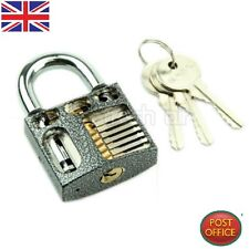Cutaway Inside View Practice Learning Padlock Lock Training Skill Pick Locksmith