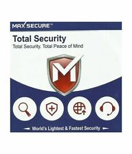 Max Secure Edition Total Security Antivirus With 16 Months Validity