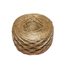 100 Meter - Natural Textured Hessian Jute Twine String 1mm LW