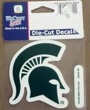 """Michigan State University Perfect Cut Color Decal 4"""" x 4"""""""