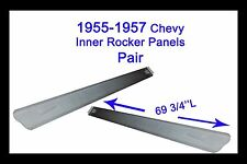 1956 1957 Chevy Bel Air  Two-Ten  One-Fifty  Inner Rocker Panels Pair!