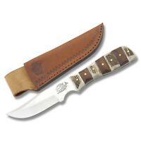 Fox-n-Hound Fixed Blade Medium Clip Point Hunter Hunting knife Stag wood Handle