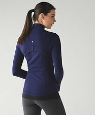 NWT Lululemon DEFINE JACKET Deep Indigo Size 6 dark blue.