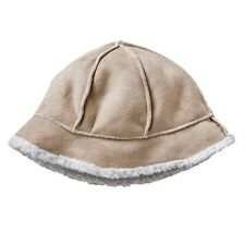 SONOMA life + style Cold Weather Faux-suede Shearling Bucket Hat~$28~NWT
