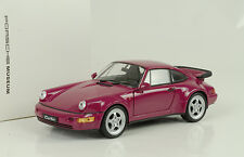 1990 Porsche 911 964 Turbo sternrubin 1:24 Welly Museum MAP