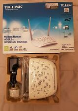 Modem Router ADSL2+ Wireless N 300Mbps TP-LINK TD-W8961ND COME NUOVO!!! LEGGI