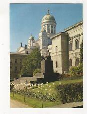 Helsinki Johan Wilhelm Snellman Bank of Finland 1973 Postcard 377b