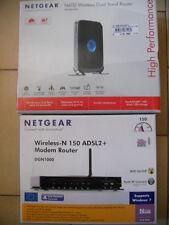 MODEM NETGEAR N600 (Dual Band router) + NETGEAR WIRELESS-N 150 ADSL 2