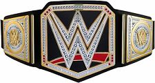Official Mattel WWE World Championship Belt - Kids Dress Up Costume Toy NEW