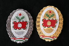 Hungary Hungarian Badge Excellent Front Unit Commander Soldier Medal Lot Soviet