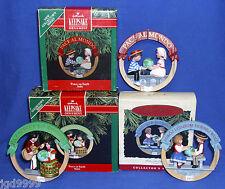 Full Hallmark Ornament Series Peace on Earth Italy 1991 Spain 1992 Poland 1993