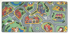 Toy Car Mat Carpet Kids Learning Cars Hot Wheels Matchbox Rug City Road Train