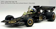 EXOTO Lotus Ford 72 e (1973) # 2 ronnie peterson salute GP ITALY GP sur gel perméable 97037
