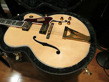 Gibson Custom Shop RARE Super 400 Archtop Hollow Body Natural Ebony Fretboard
