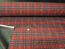 10 mètres de 60 pouces de large royal stewart design tartan tissu imperméable