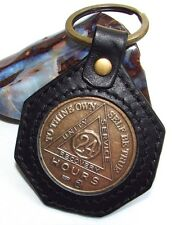 Alcoholics Anonymous AA NA Sobriety Keychain Keyring Token Chip Holder Medallion