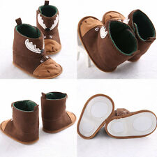 Winter Sale Toddler Baby Cotton Shoes Girl Soft Sole Crib Shoes Boots 0-18M 12 N