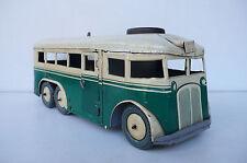 JOUSTRA  TROLLEY-BUS  6 ROUES    TÔLE   REF 440   1949  À  RESTAURER