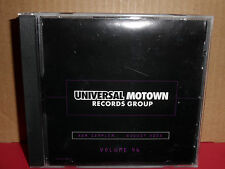 Universal Motown August Vol 46 PROMO CD Crazy Frog BODYROCKERS Hinder RA