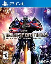 PLAYSTATION 4 TRANSFORMERS RISE OF THE DARK SPARK BRAND NEW VIDEO GAME