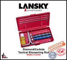 Lansky Standard Three-Stone Sharpening System Coarse to Fine Grit Hones LKC03