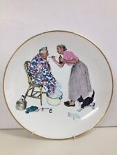 "Norman Rockwell 1978 Limited Edition Four Seasons Series Plate - ""Spring Tonic"""