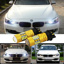 2 Pcs PW24W CREE 80W LED DRL Canbus Error Free For BMW F30 Day Time Running