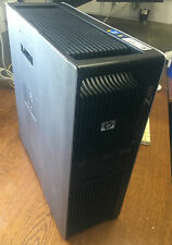 Estación de trabajo HP z600 QC Xeon e5620 2,4ghz RAM 8gb HDD 1tb fx1800 Windows 7 Pro