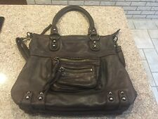 Linea Pelle Dylan Medium Tote Dark Brown