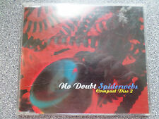 NO DOUBT - SPIDERWEBS PART 2 -  CD - 4 TRACK SINGLE