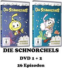Die Schnorchels - Die Schlümpfe des Meeres, DVD 1 + 2 im Set NEU + OVP!