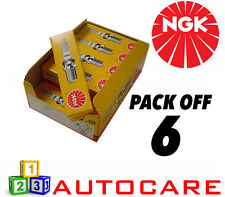 NGK Replacement Spark Plug set - 6 Pack - Part Number: BP6EF No. 4666 6pk