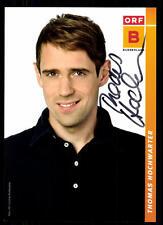 Thomas Hochwarter ORF Autogrammkarte Original Signiert ## BC 52196