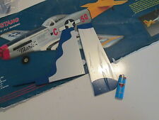 R/C Airplane Vertical Stabilizer P-51 Mustang .60 .90 1664mm 65.5in Wing Span