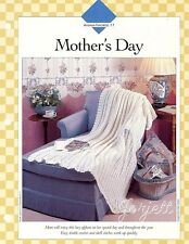 Mother's Day Afghan quick & easy lacy shell stitch crochet pattern