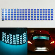 90x25CM Car Sticker Music Rhythm LED Flash Light Sound Activated Equalizer Lamp