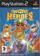 HAMSTER HEROES for Playstation 2 PS2 - with box & manual - PAL