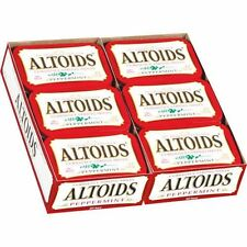 Altoids, Peppermint, Candy Mints 1.76 oz, 24 ct Tins