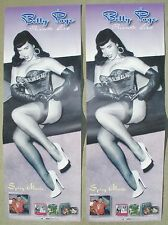 RARE PAIR Betty Page Private Girl Posters PROMO CD/LP Both NEW Pinup Girl Photos