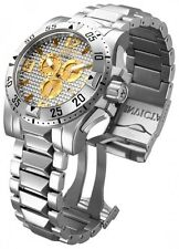 New Men's Invicta 15315 Excursion Reserve Swiss Chrono Grey Textured Dial Watch