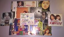 Asian CD & DVD Lot from Personal Collection - Nice Variety, More Titles Added!